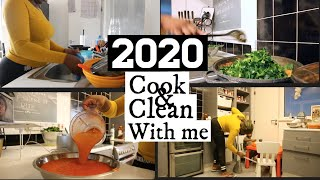 EVENING COOK WITH ME, CLEAN WITH ME AND EAT WITH US AS A FAMILY