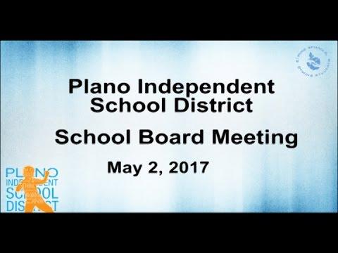 School Board Meeting - May 2, 2017