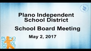 School Board Meeting - May 2, 2017