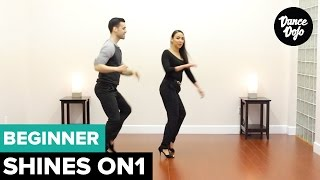 Semi Circle On1 - Salsa Shines & Footwork | TheDanceDojo.com