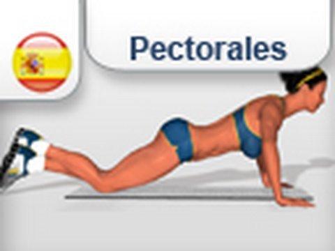 ejercicios para pectoral mujeres