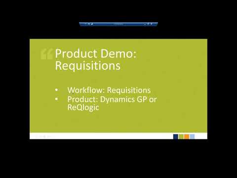 2017 11 14 13 00 Streamline Your Procurement Process Using Dynamics GP