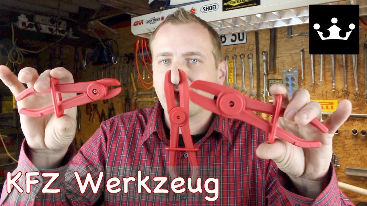 3-tlg Schlauchklemmen Zangen Abklemmzangen Set Schlauch Klemmzange Abklemmen