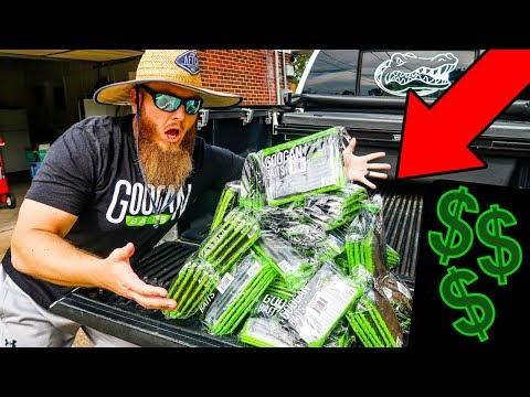 $1,000 Fishing Lure Unboxing & Pond Bass Fishing Tips