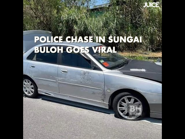 Police Chase in Sungai Buloh Goes Viral