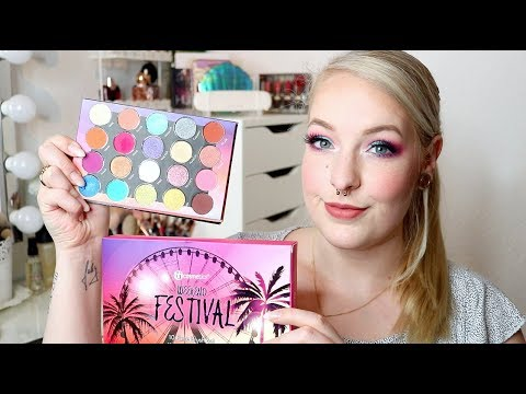 BH COSMETICS WEEKEND FESTIVAL COLLECTION - Live Test & Erster Eindruck I Frollein Tee