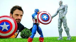 Первый МСТИТЕЛЬ - Капитан Америка против Альтрона! Супергерои