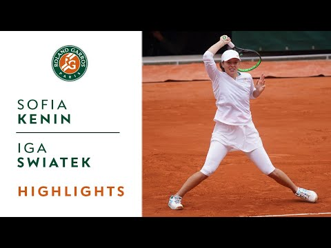 Sofia Kenin vs Iga Swiatek - Final Highlights I Roland-Garros 2020