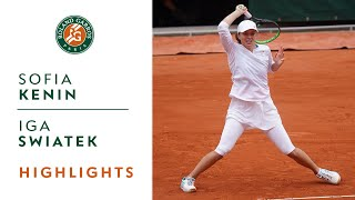 Sofia Kenin vs Iga Swiatek - Final Highlights I Roland-Garros 2020