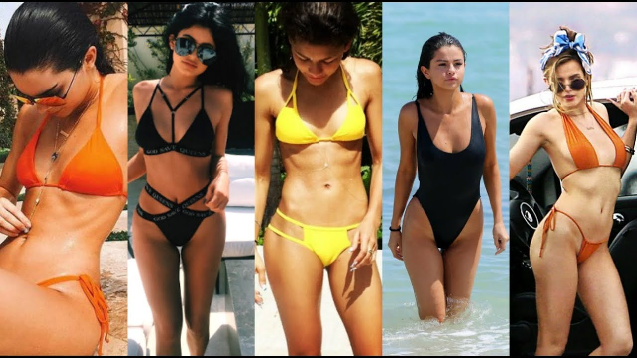 Celebrities On Swimsuit Collection Haul 2016 Famosas En
