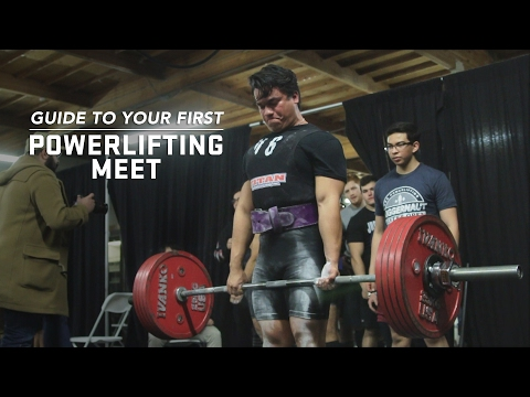 Guide To Your 1st Powerlifting Meet | JTSstrength.com