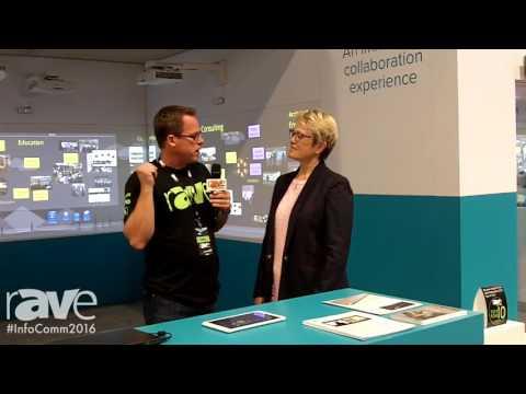 InfoComm 2016: Gary Kayye Interviews Nureva Founder Nancy Knowlton at InfoComm