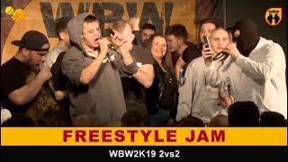 Freestyle Jam WBW2K19 2vs2 - Bober, Filipek, Yowee, Gruba, Spartiak, Bilu, Pejter, Syn Młynarza