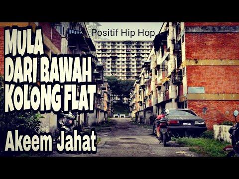 Akeem Jahat - Mula Dari Bawah Kolong Flat (MDBKF) Lirik