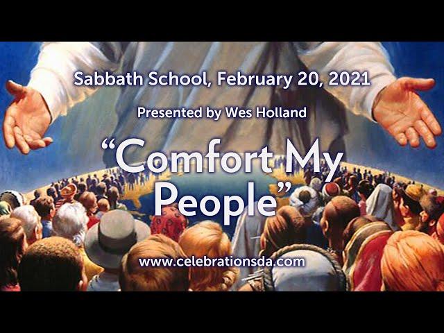 Comfort My People