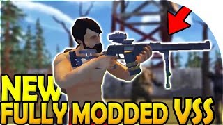 NEW FULLY MODDED VSS in WEAPON UPDATE - Last Day On Earth Survival Update 1.8.7