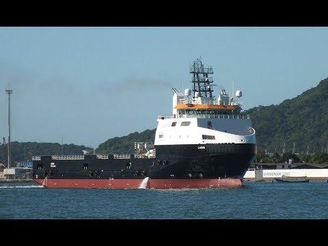 Platform Supply Vessel PSV - YouTube