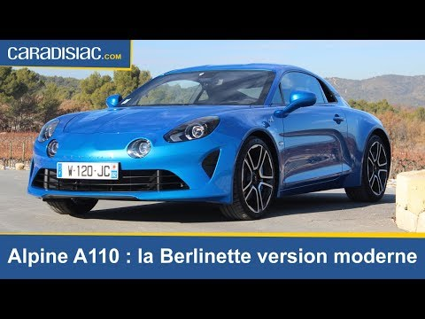 Alpine A 110  : la Berlinette version moderne