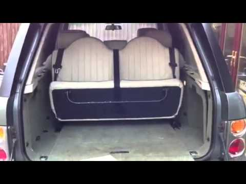 range rover l322 hse 2003 6 7 seat conversation youtube. Black Bedroom Furniture Sets. Home Design Ideas