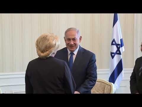 Întrevederea PM Viorica DĂNCILĂ cu PM Stat Israel, Benjamin NETANYAHU