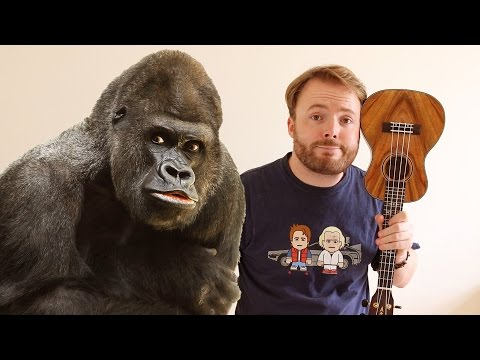RIP HARAMBE - TRIBUTE SONG (FILTHY FRANK UKULELE TUTORIAL)