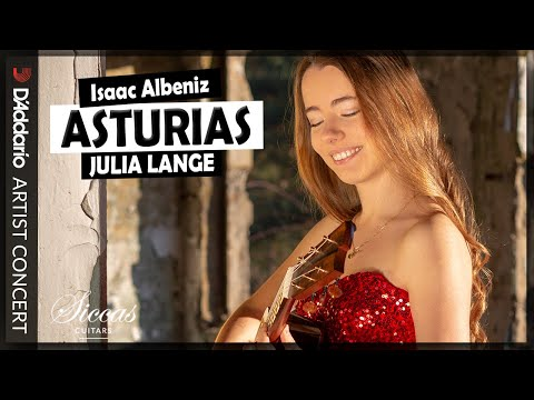 Julia Lange Plays Asturias By Isaac Albéniz | D'Addario - Classical Guitar