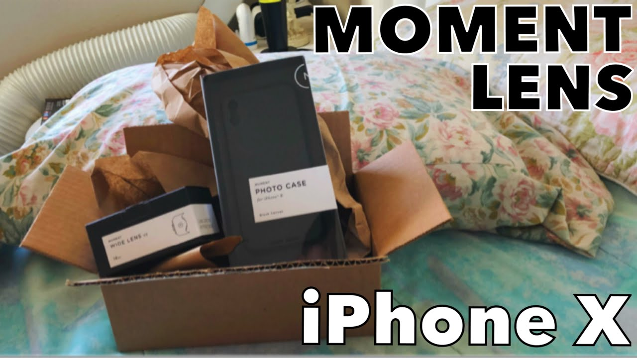 new arrivals a91b3 f2116 iPhone X Moment Lens fast unbox and review! 🏎💨