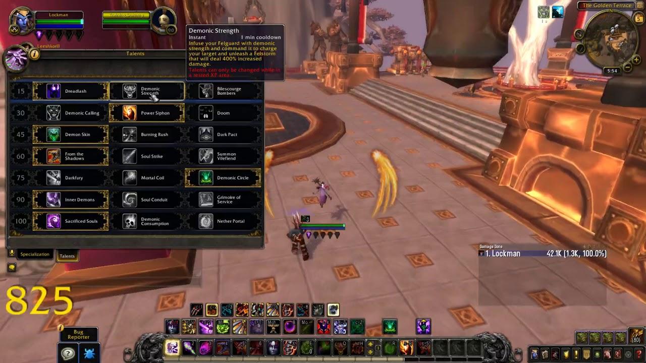 [Warlock] BFA beta demonology warlock complete overview