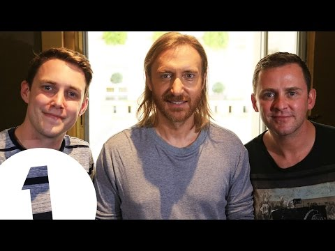 David Guetta interviewed in Paris by Scott Mills and Chris S