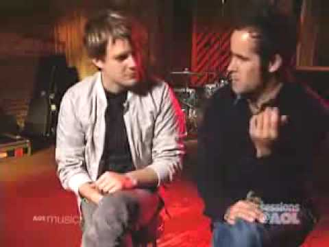Brandon Flowers and Ronnie Vannucci from The Killers AOL sessions interview 2004