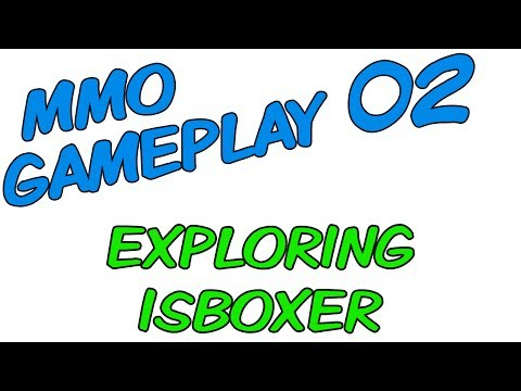 MMO Multiboxing Gameplay [ISBoxer 41] -- Part 02: Exploring ISBoxer