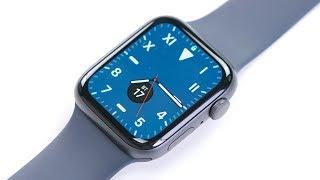 Распаковка Apple Watch 5: экран горит всегда! Что нового?