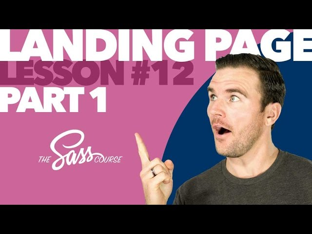 [#12] Style a Portfolio Landing Page, Part 1 (Learn Sass)