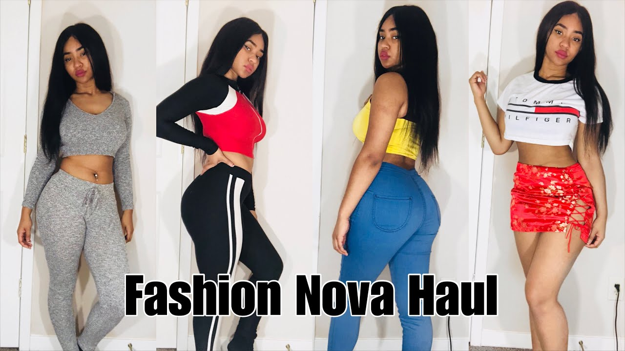Fashion Nova Haul 2018 Instagram Outfits Youtube