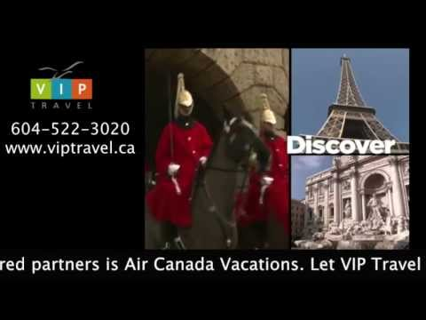 VIP Travel Vacation Ideas - Air Canada Vacations