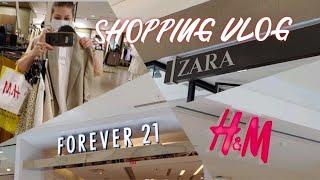 ZARA H M FOREVER 21 Летний ШОППИНГ Влог Shopping Vlog Lada B