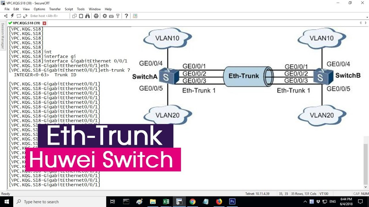 HUAWEI | Configure Eth-Trunk on Huawei Switch