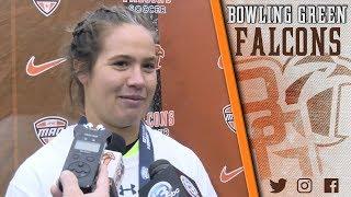 Kathleen Duwve Post-Match Interview (Nov. 4, 2018)