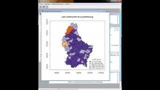 La cartographie avec le logiciel R  de A à Z