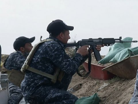 Iraq Forces Resume Fight for Tikrit