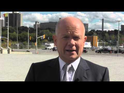 Foreign Secretary visits Canada