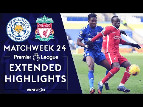 Leicester City v. Liverpool   PREMIER LEAGUE HIGHLIGHTS   2/13/2021   NBC Sports