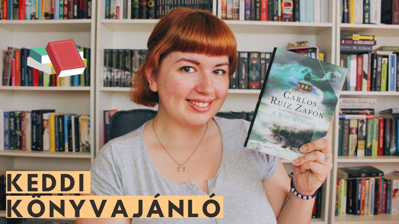 KÖNYVKLUB: KEDDI KÖNYAJÁNLÓ 📖 Carlos Ruiz Zafón: A Köd Hercege / egy misztikus ifjúsági regény - YouTube