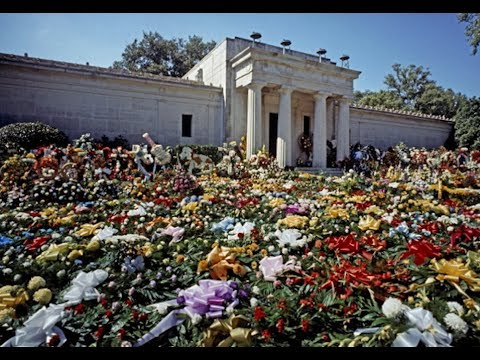 Elvis Mausoleum Memphis Old Footage July 1988 The Spa Guy Part #2