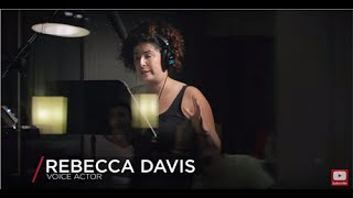 Voiceover Labs promo featuring actors Rebecca Davis, Paul Pape and Scott Brick
