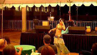 Miss Willow Chang fusion bellydance at Hawaii State Art Museum