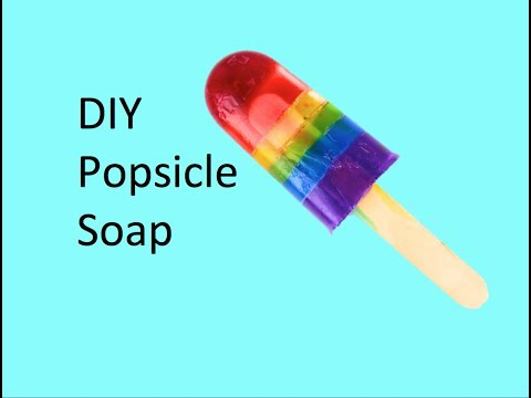 DIY Popsicle Soap