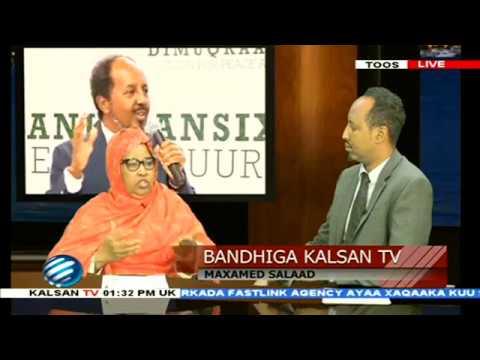 BANDHIGA KALSAN TV /UJEEDADA  XISBIGA UU SAMEEYAY MADAXWEYNIHII HORE EE SOOMAALIYO IYO XISBIGA KALE