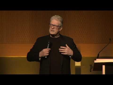 Sir Ken Robinson speaking at Talent Summit 2018