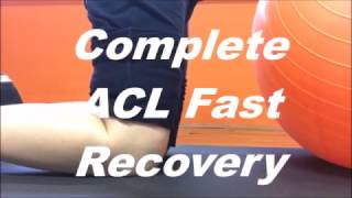 ACL Surgery 10 Week Recovery - My rehab journey